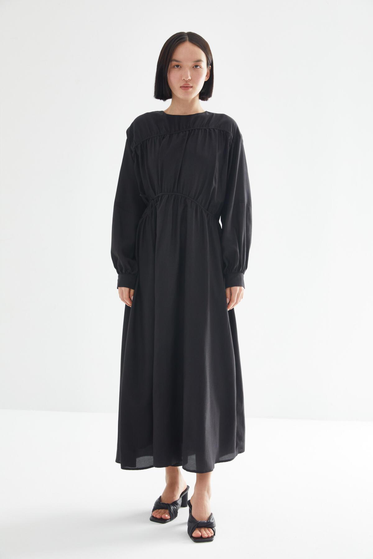 Kevser Sarıoğlu - TIE LINED DRESS