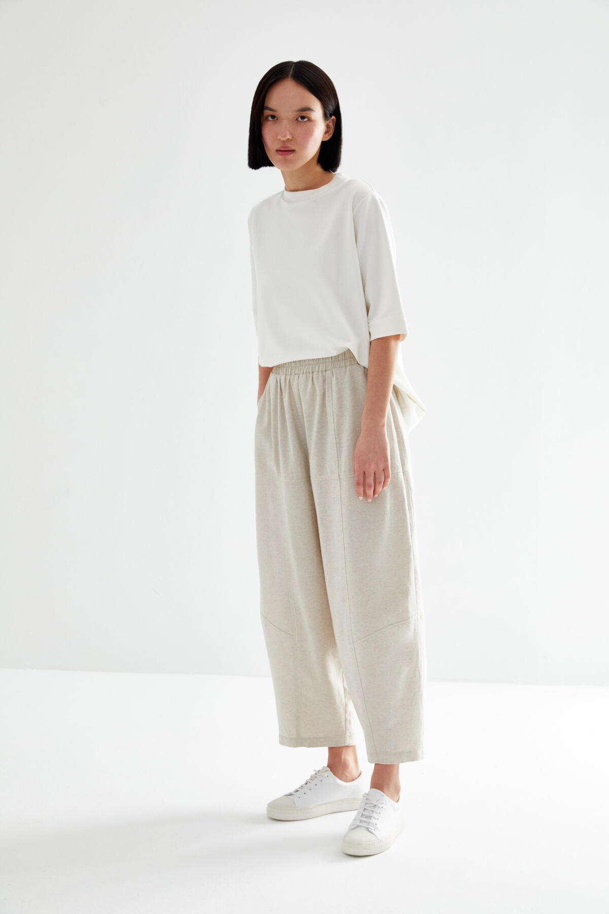 - BOMBER TROUSERS WITH POCKET